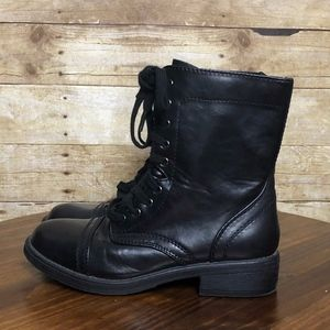 AIRIZONA JEANS JUDSON COMBAT BOOT SIZE 8.5 BLACK